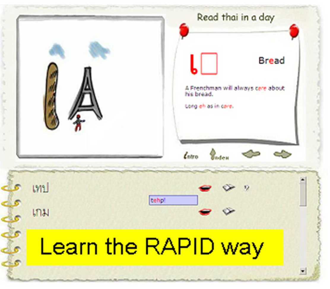 Learn to read Thai the Rapid way
